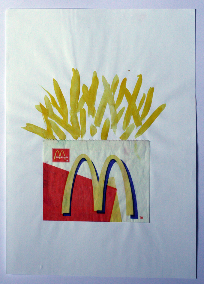McPommes, mixed media