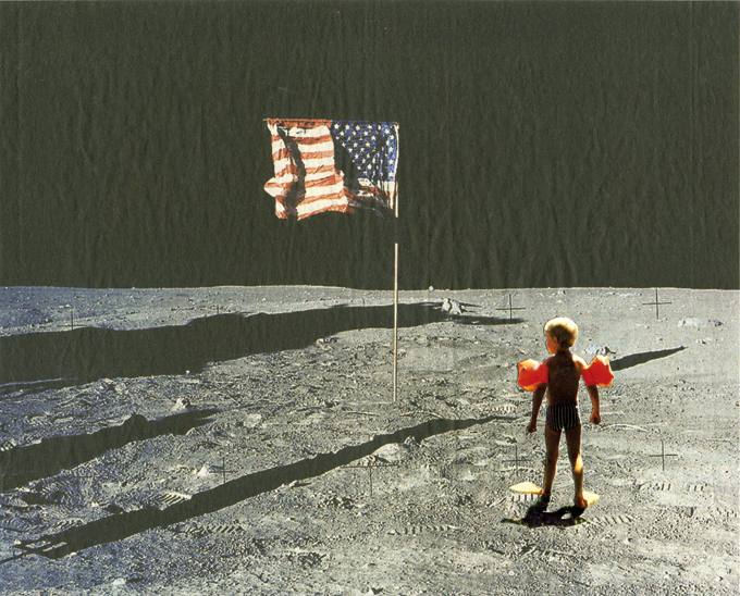 No Water On The Moon, Collage 2010