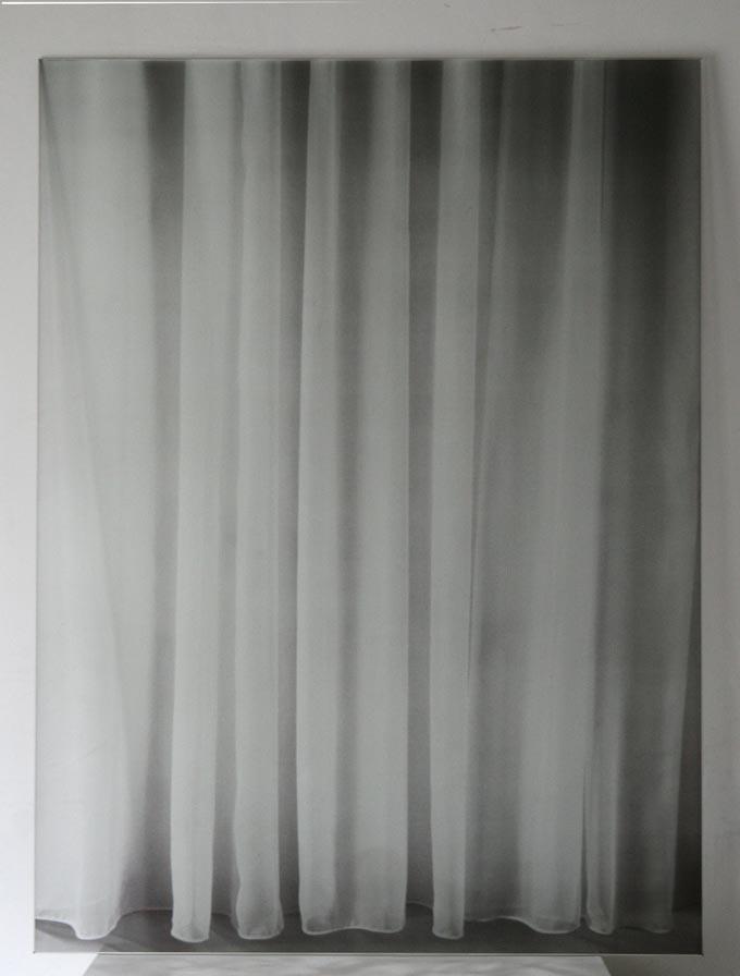 Window. Siebdruck auf Glas
